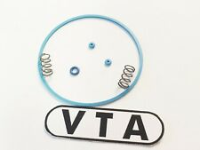 "VTA BLUE Gaskets/SEALS for SEIKO 6139-6030, 6139-6032 ""COKE"" + Pusher SPRINGS"