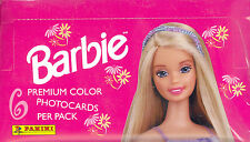 BARBIE PHOTOCARDS 1999 PANINI FACTORY SEALED TRADING CARD BOX OF 36 PACKS