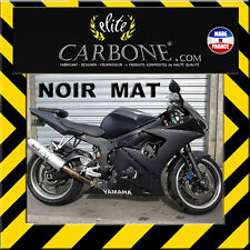 NOIR MAT  (300 x 750mm) Covering Revêtement Film Vinyle adhésif tuning auto moto