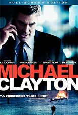 Michael Clayton (Full Screen Edition), Good DVD, George Clooney, Tilda Swinton,