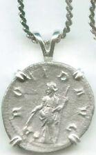 AD243 Silver Roman Denarius Emperor Gordian Goddess Providentia Destiny Wisdom