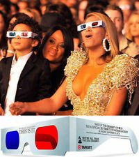 Michael Jackson Lunettes 3D 3-D Glasses THIS IS IT Grammy Awards 2010