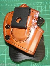 Front Line QUAD26C-BR Combination Paddle / IWB Ambidextrous Holster Glock 26 27