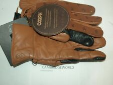 Cooph Photo Glove NEW ORIGINAL GENUINE LEATHER  LIGHT BROWN PAIR