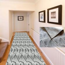 Alfil alfombra alfombra alfil METERWARE 2 flor alturas pasillo gris 67 80 100 cm de ancho