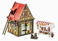 Playmobil 6524  Framewok House Pottery    Rare Brand New item  LGB (  add one )