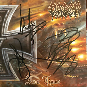 """Vader - Iron Times (10"""") / komplett signiert fully autographed / Hate Behemoth"""