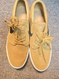Nike SB Zoom Janoski Skateboarding Shoes Mens Sz 11 celestial Gold/anthracite
