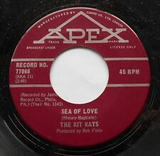 *THE KIT KATS Sea of love / Cold walls Ex to NM- CANADA ORIG 1967 ROCK 45 RARE