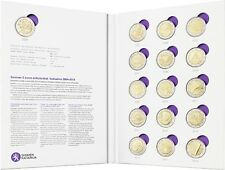 Finland 16 x 2 euro commemorative coins 2004 - 2014 in official collector case