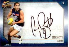 2011 Select AFL Champions Stars Authentic Signature Card SS2 Eddie Betts-Carlton