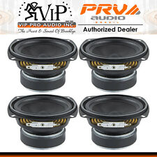 "(Four) PRV 4MR60-4 4"" Midrange Woofer Speaker Full Range Vocal Driver - DEALER -"