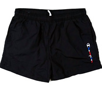 Champion Swim Trunks Black Beach Shorts Size S M L XL