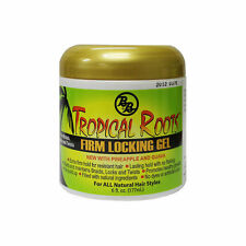 BB Tropical Roots Firm Locking Gel 6 oz (for Braids, Locks and Twists)