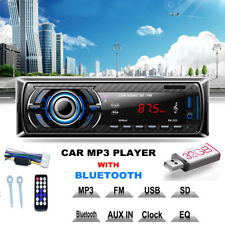 Bluetooth Auto Audio Stereo FM CD DVD Lettore MP3 Ricevitore USB SD AUX INPUT PK-523
