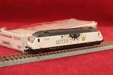 """Fleischmann N 731311 BLS E-Lok Re 465 015-6 Cat""""s Eye mit DSS + Licht/OVP/NEU"""
