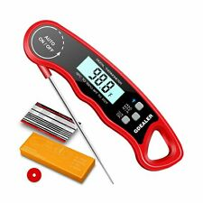 """GDEALER DT09 Waterproof Digital Instant Read Meat Thermometer with 4.6"""" Foldi..."""
