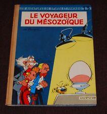SPIROU ET FANTASIO -13- / Le Voyageur du Mésozoïque / EO1960 / BE+