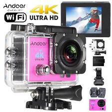 "Andoer 2"" Sport Action Camera Cam HD LCD 4K 1080P Wifi Connection 16MP TS A3H4"