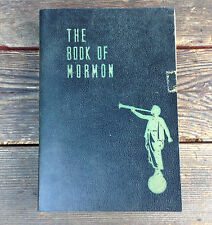 The Book of Mormon Taken from the Plates of Nephi 1950 Leatherette Cover