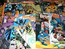 DC COMICS LOT OF 12  BATMAN #433-435,437-441 DETECTIVE COMICS 598-600 & 607 NM