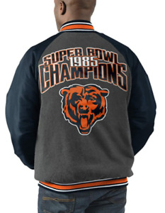 Chicago Bears Super Bowl Champions Varsity Commemorative Jacket Size 2XL