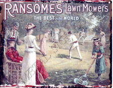 James Haworth Promotional Blotter.Ransomes Lawn Mowers.c1950//60s.
