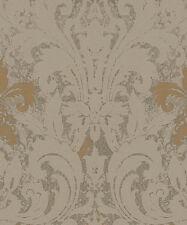 Marburg Tapete la Veneziana 3 57920 Ornamento Barroco Oro Marrón