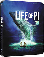 LIFE OF PI, Schiffbruch mit Tiger (Blu-ray 3D + Blu-ray Disc) Steelbook U.K. NEU