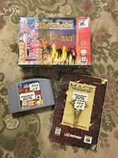 Mace: The Dark Age (Nintendo 64, 1997) Complete in box Tested !!