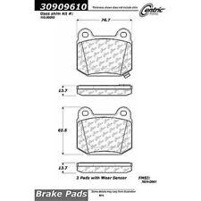 Centric Parts 309.09610 Rear Disc Brake Pad Fits 2004 Infiniti G35