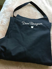 DOM PERIGNON SOMMELIERS APRON TABLIER BLACK NEW IN  POLY BAG