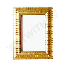 Decorative Picture frame photo poster frame reverse GOLD