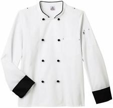 Long Sleeve Executive Chef Coat, White S