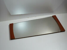 60er WANDSPIEGEL SPIEGEL teak danish design modern 75 cm  60s wall mirror