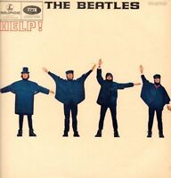The Beatles(549-2/550-2 Vinyl LP)Help-Parlophone-PMC 1255-UK-1965-VG+/G
