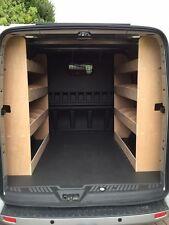 Ford Transit Custom CREW CAB L1 SWB Crew Van Racking Plywood Shelving tools