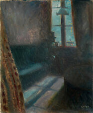 Edvard Munch Reproduction: Night in St. Cloud - Fine Art Print