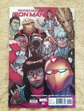 Invincible Iron Man # 5, 6, 7, 8, 9, Marvel 2017 Series Ironheart Disney Plus