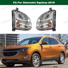 PROJECTOR Fog Light Lamp Pair New for Chevrolet Equinox 2018