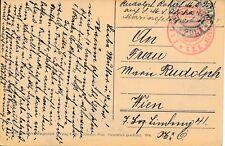 Nr 18091 PK   K.u.K. Kriegsmarine Feldpost  Pola SMS ALPHA 1915 Torpedoboot
