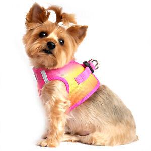 American River Choke Free Dog Harness Ombre Collection - Raspberry Pink  XXS-3XL