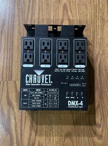 Chauvet DMX-4   4-Ch DMX Dimmer/Switch Pack