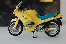 BMW  R1100RS  1/24th  DIECAST  MODEL  MOTORCYCLE YELLOW