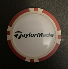 TAYLORMADE  - Poker Chip Golf Ball Marker - FREE S/H