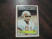 REDSKINS ART MONK 1983 TOPPS FOOTBALL CARD #193