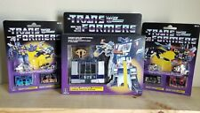 Transformers G1 Reissue Soundwave Laserbeak Ravage Rumble Frenzy Buzzsaw MIB Lot