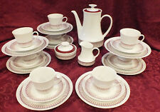 Vtg 27 piece MCM Svc for 8 Winterling Marktleuthen Retro Coffee / Lunch Set