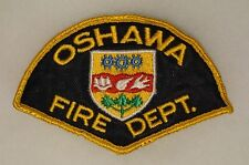 Canadian Oshawa Fire Department Patch