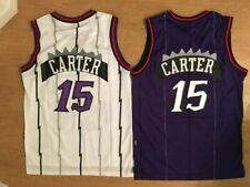 Men's Vince Carter #15 Hardwood Classics Toronto Raptors Men's Throwback Jersey